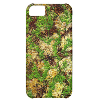 Camo Moss Rust Aged Grunge Old Texture iPhone 5C Case