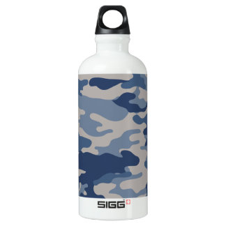 Camo Navy Blues Liberty Bottleworks Water Bottle