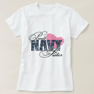 Camo Navy Sister T-Shirt