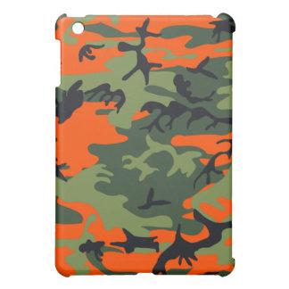 Camo Neon Orange  iPad Mini Cases