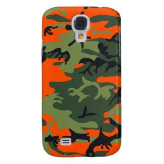 Camo Neon Orange Speck Case iPhone 3G/3GS Samsung Galaxy S4 Cases