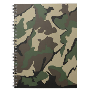 Camo, Notebook (80 Pages B&W)