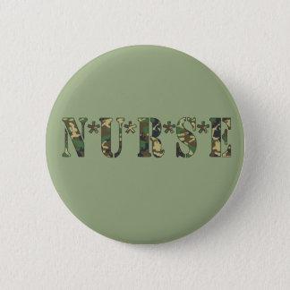Camo Nurse Button