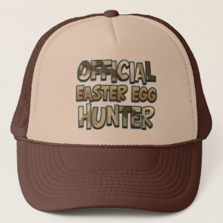 Camo Official Easter Egg Hunter Shirt Trucker Hat