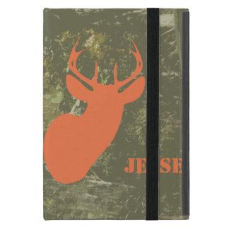 Camo & Orange Deer iPad Mini Case With Kickstand