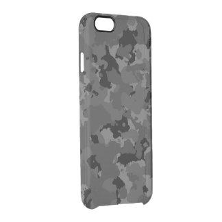Camo oscuro funda clearly™ deflector para iPhone 6 de uncommon