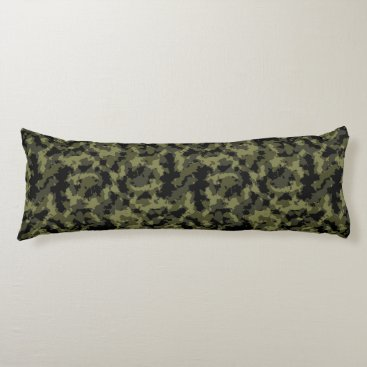 Camo Pattern Body Pillow