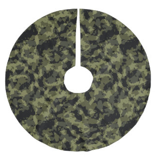 Camo Pattern Brushed Polyester Tree Skirt