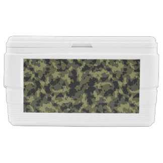 Camo Pattern Chest Cooler