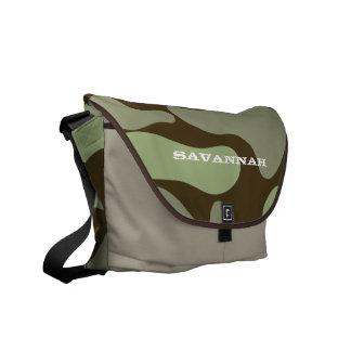 Camo Pattern Cmutter Bag Courier Bag