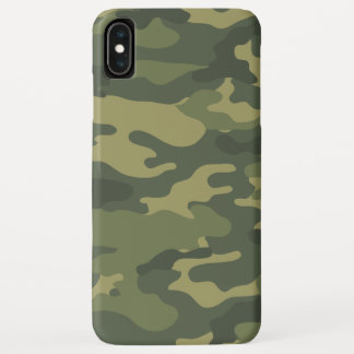 Camo Pattern for hunters or mililtary iPhone XS Max Case
