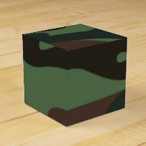 Camo Pattern fun favor box