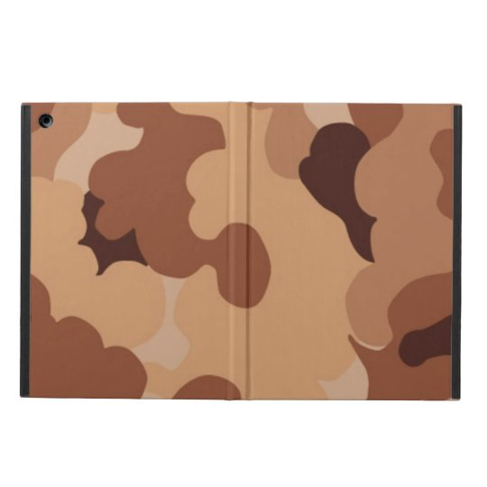Camo Pattern iPad Air case