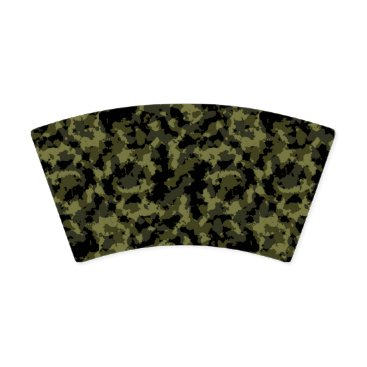 Camo Pattern Paper Cup