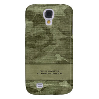 Camo Pattern Personalized Military or Hunting Samsung Galaxy S4 Cases