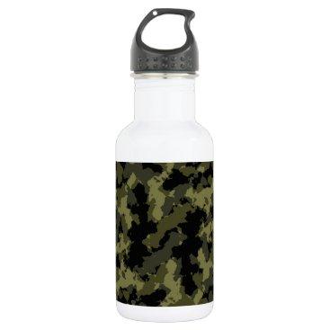 Camo Pattern Stainless Steel Water Bottle