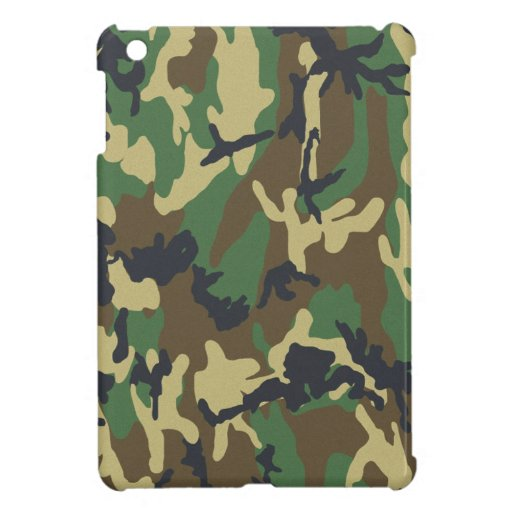 Camo Pattern Woodland Military or Hunter Cover For The iPad Mini