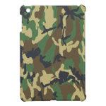 Camo Pattern Woodland Military or Hunter iPad Mini Cases