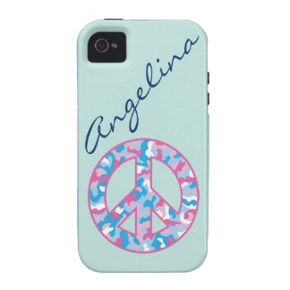 Camo Peace Vibe iPhone 4 Cases