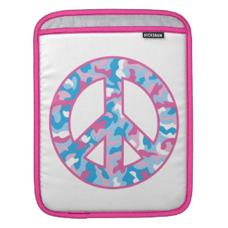 Camo Peace iPad Sleeves