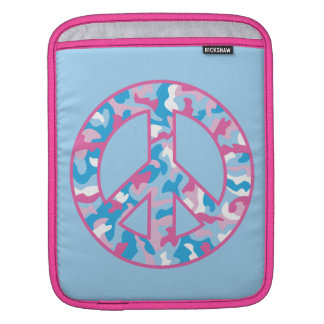 Camo Peace Sleeves For iPads