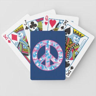 Camo Peace Poker Deck