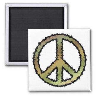 Camo Peace Sign Magnet