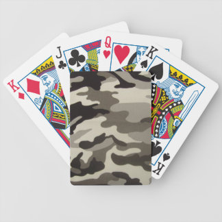 Camo Bicycle Poker Cards