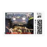 Camo Postage Stamp