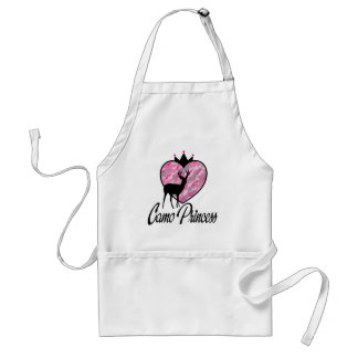 Camo Princess Adult Apron