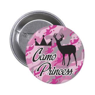 Camo Princess Pin