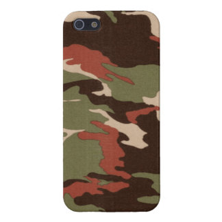 Camo Print 15 iPhone 5 Cover