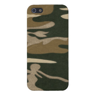 Camo Print 7 Cover For iPhone 5/5S