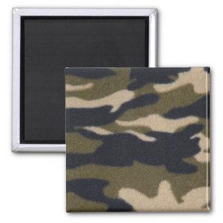 Camo Print Jungle Green/Black for Hunters Refrigerator Magnet