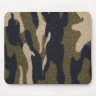 Camo Print Jungle Green/Black for Hunters Mouse Pad