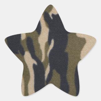 Camo Print Jungle Green/Black for Hunters Star Sticker