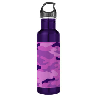 Camo Purples Liberty Bottleworks Water Bottle