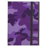 Camo púrpura brillante lindo, camuflaje