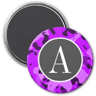 Camo púrpura eléctrico; Camuflaje Imán Para Frigorífico
