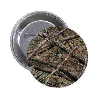 Camo real personalizado/camuflaje (personalizable) pin redondo de 2 pulgadas