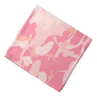 Camo rosado bandanas