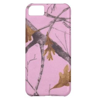 Camo rosado funda para iPhone 5C