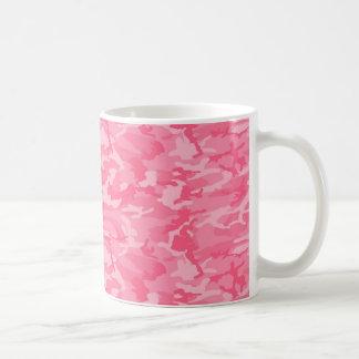 Camo rosado taza