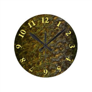 Camo Round Clock