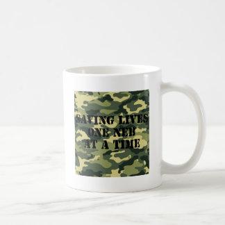 Camo Saving Lives One Neb at a Time! Coffee Mug