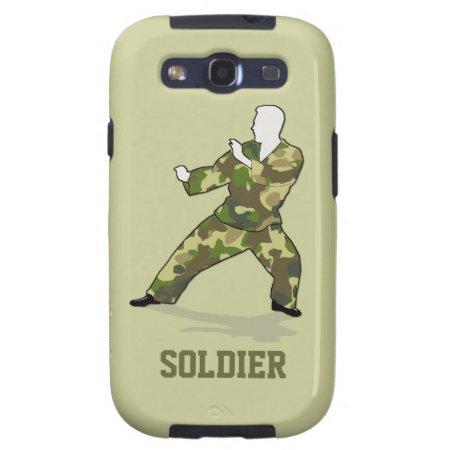 Camo Soldier Black Green Khaki Samsung Galaxy S3 Samsung Galaxy Siii C