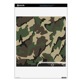 Camo Sony PlayStation 3 Slim Console Skin Decals For The PS3 Slim