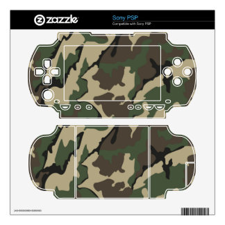 Camo Sony PSP  Skin Decals For The PSP
