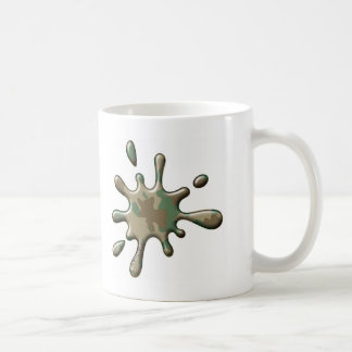 Camo Splat - mySplat.com Classic White Coffee Mug