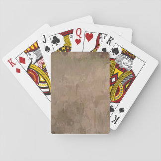 Camo splatters- Bicycle playing cards